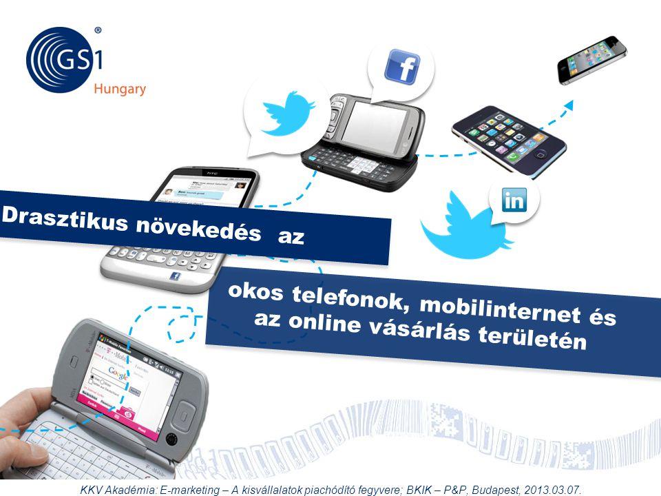 okos telefonok, mobilinternet és az online vásárlás területén