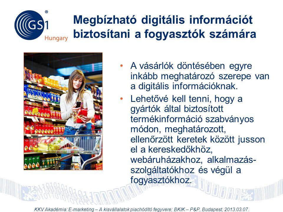Megbízható digitális információt biztosítani a fogyasztók számára