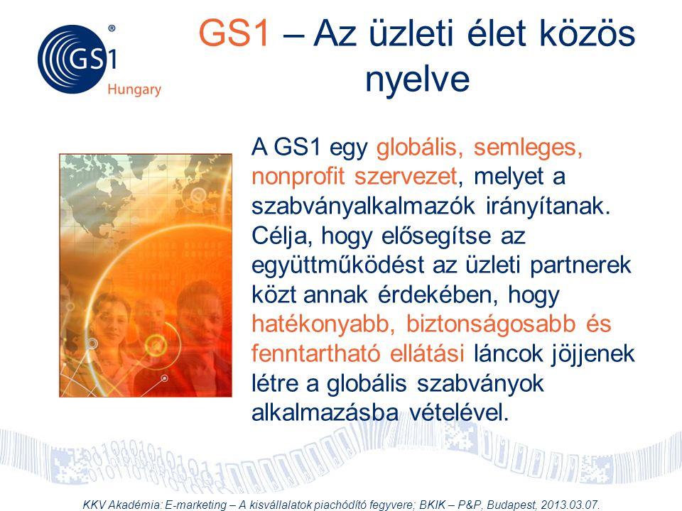 GS1 – Az üzleti élet közös nyelve