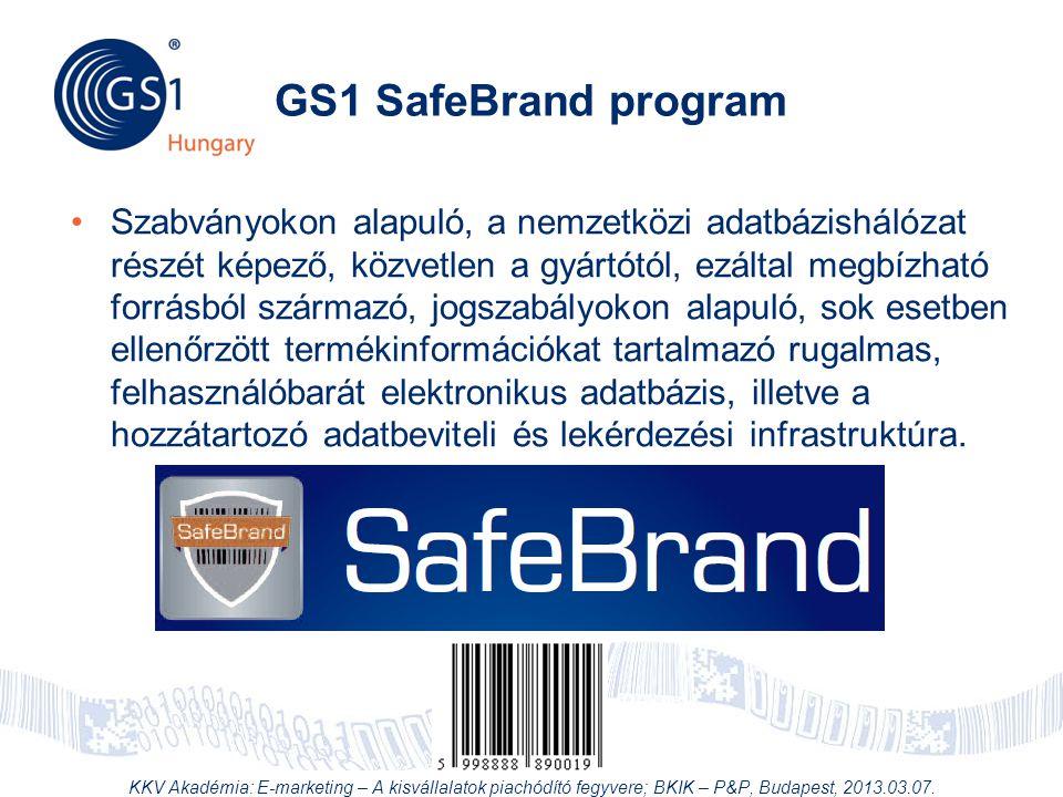 GS1 SafeBrand program