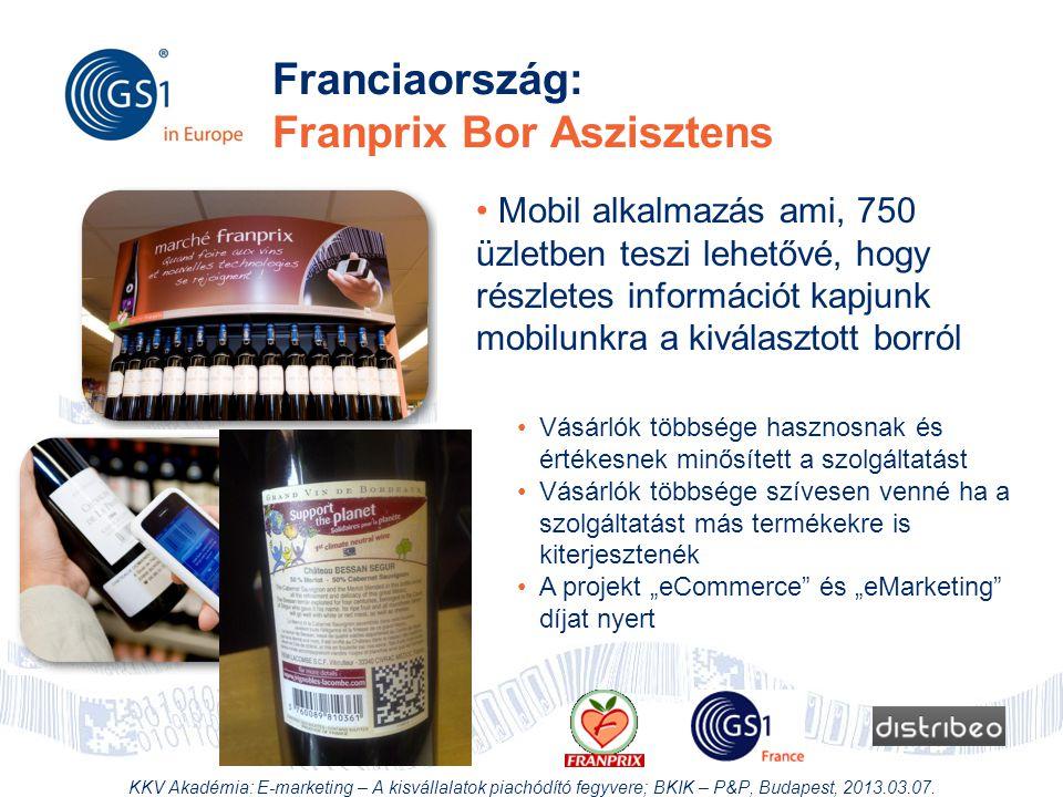 Franciaország: Franprix Bor Aszisztens