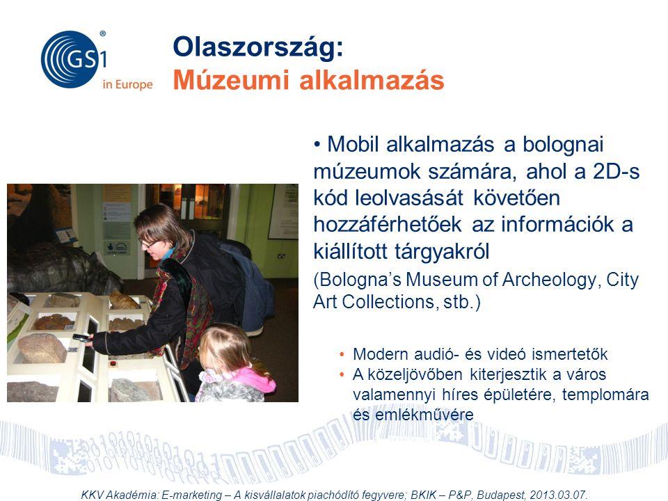 Olaszország: Múzeumi alkalmazás