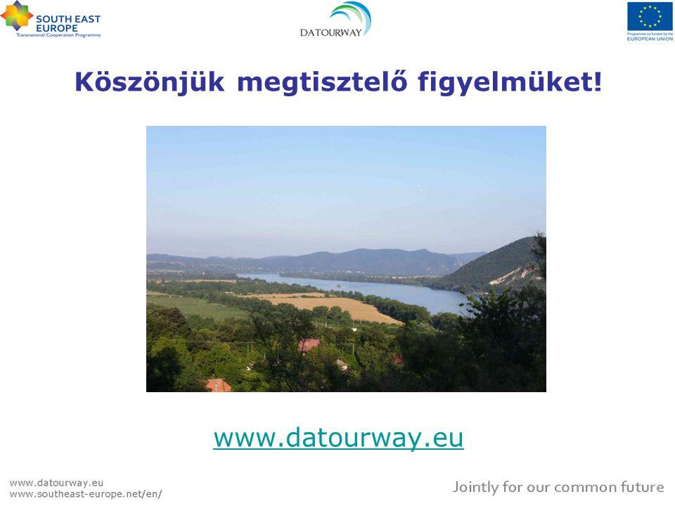 Köszönjük megtisztelő figyelmüket! www.datourway.eu