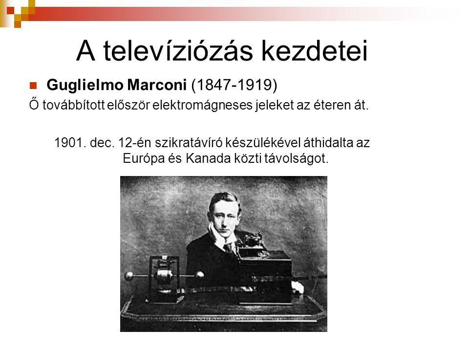 A televíziózás kezdetei