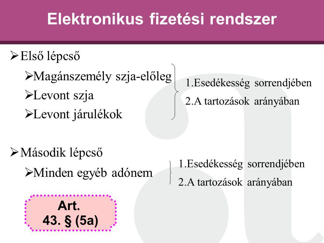 Elektronikus fizetési rendszer