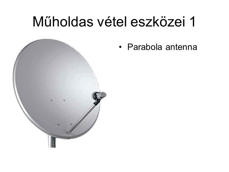 Műholdas vétel eszközei 1