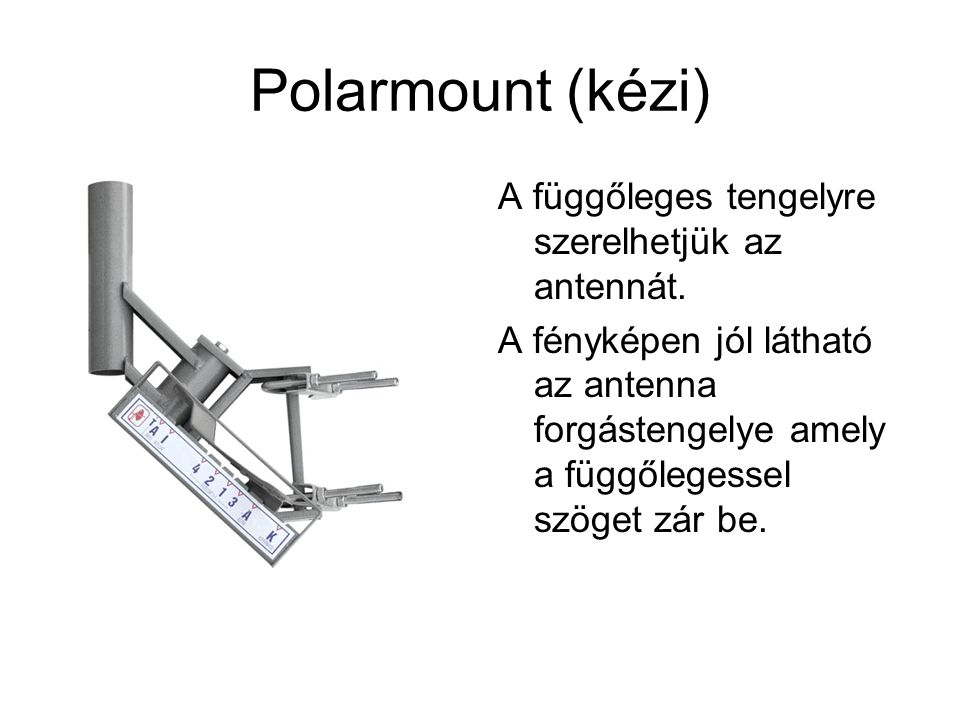 Polarmount (kézi)