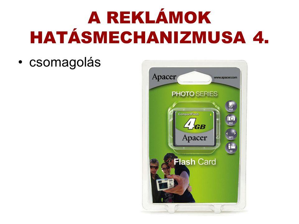 A REKLÁMOK HATÁSMECHANIZMUSA 4.
