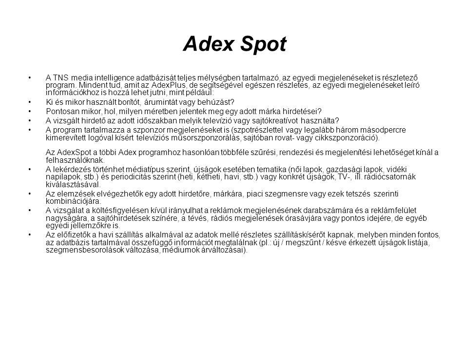 Adex Spot