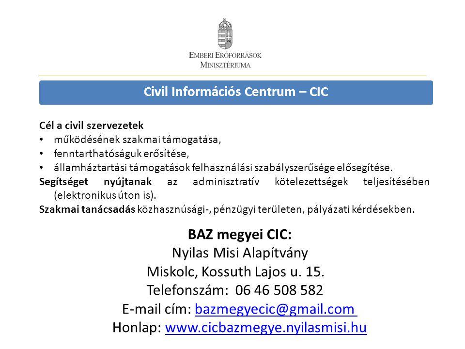 Civil Információs Centrum – CIC