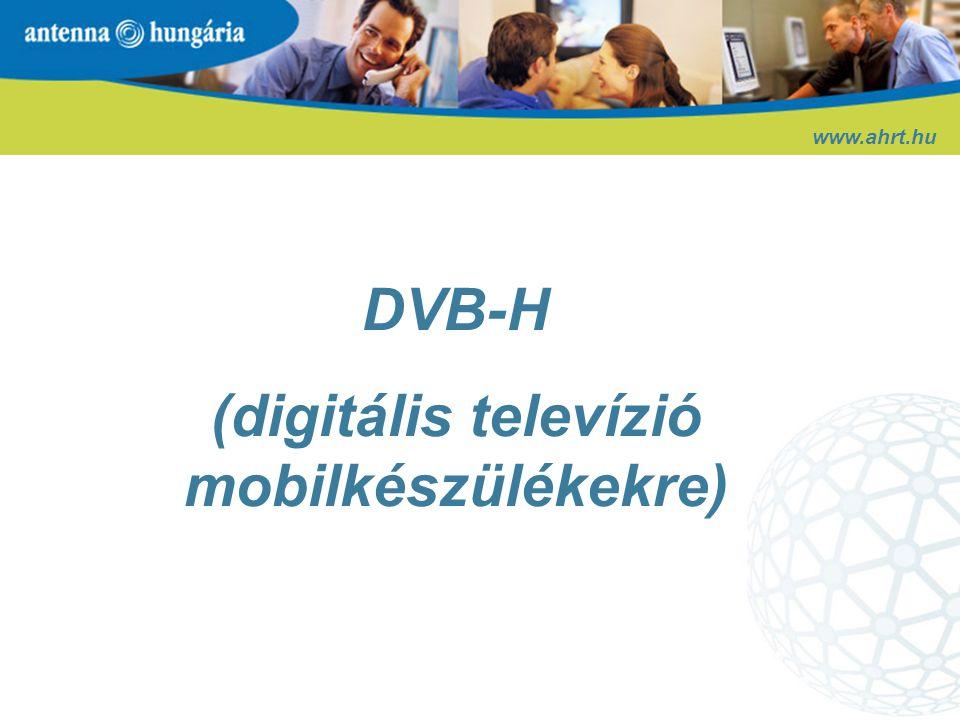(digitális televízió mobilkészülékekre)