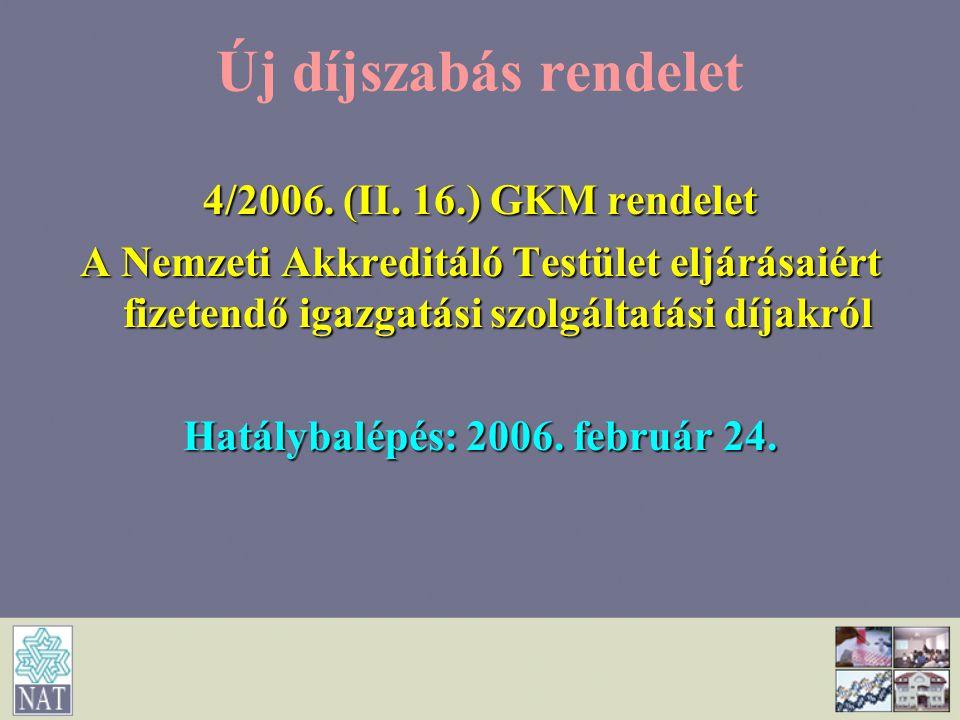 Hatálybalépés: 2006. február 24.