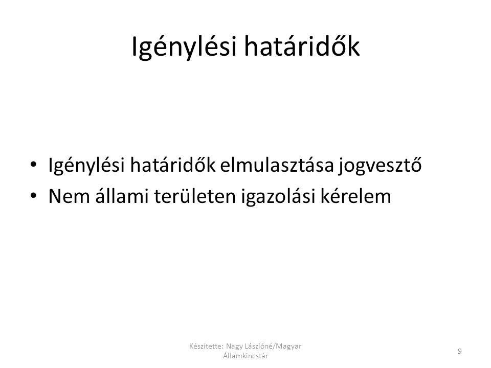 Készítette: Nagy Lászlóné/Magyar Államkincstár
