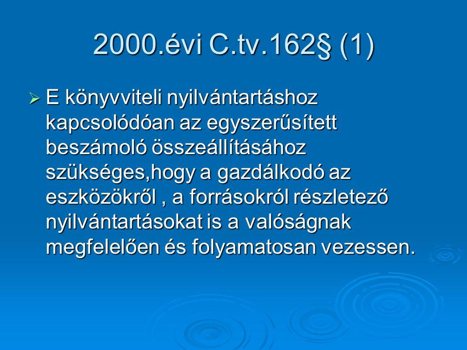 2000.évi C.tv.162§ (1)