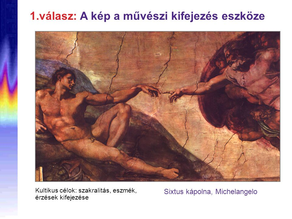 Sixtus kápolna, Michelangelo
