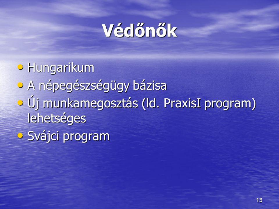 Védőnők Hungarikum A népegészségügy bázisa