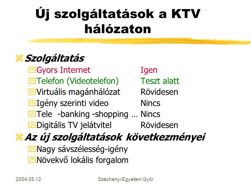 Új szolgáltatások a KTV hálózaton
