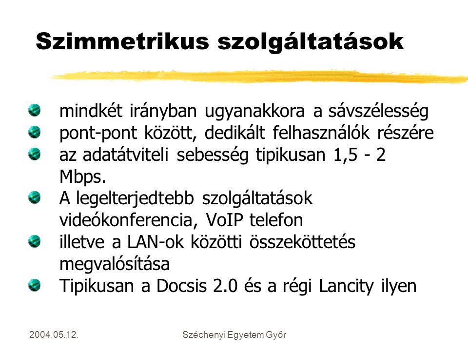 Szimmetrikus szolgáltatások
