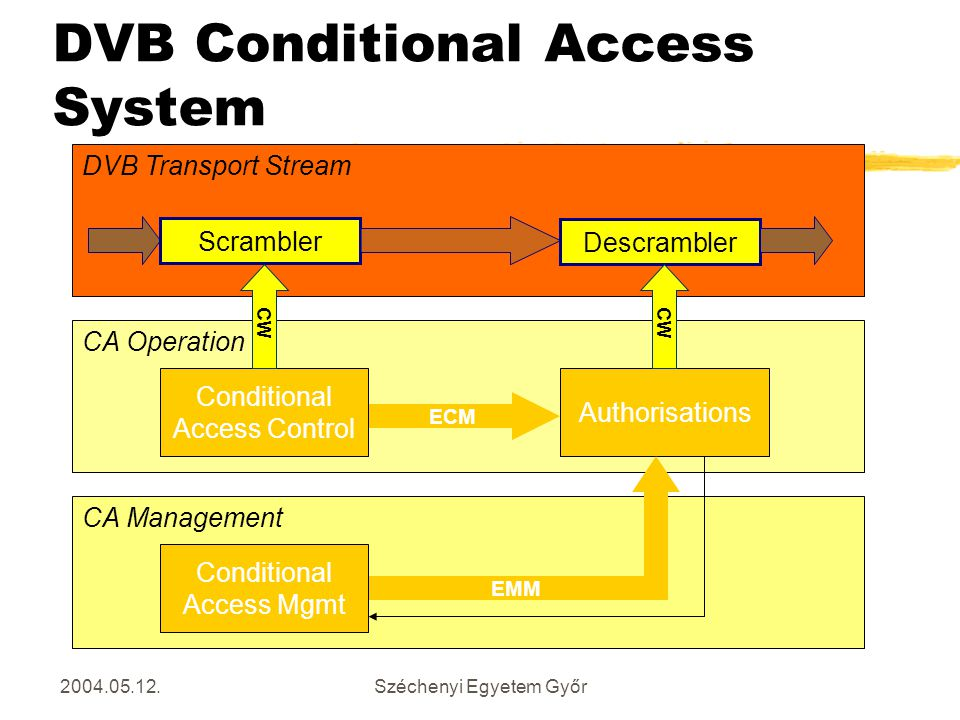 DVB Conditional Access System
