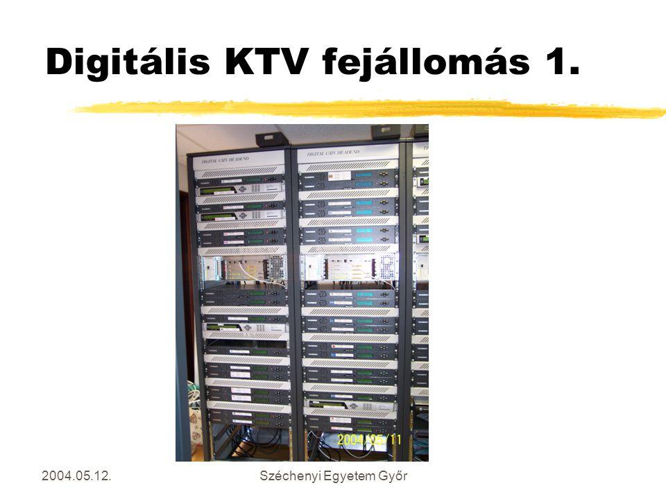 Digitális KTV fejállomás 1.
