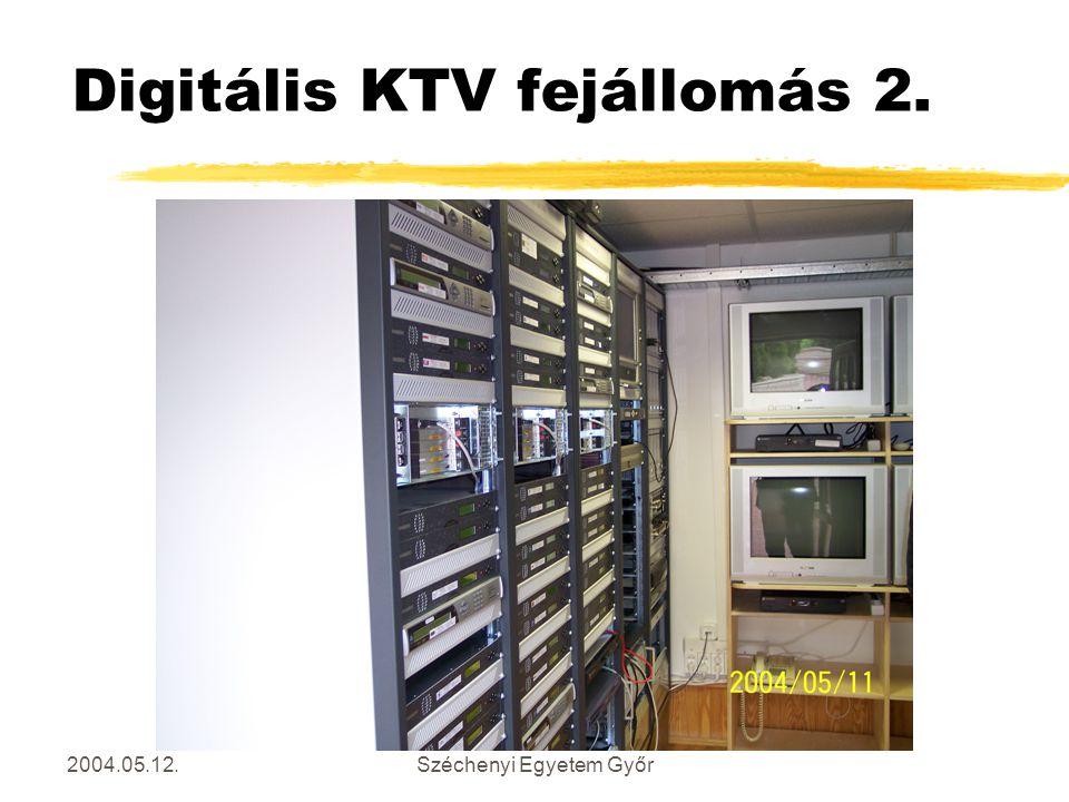 Digitális KTV fejállomás 2.