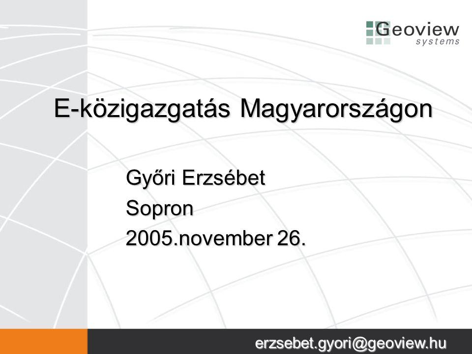 E-közigazgatás Magyarországon