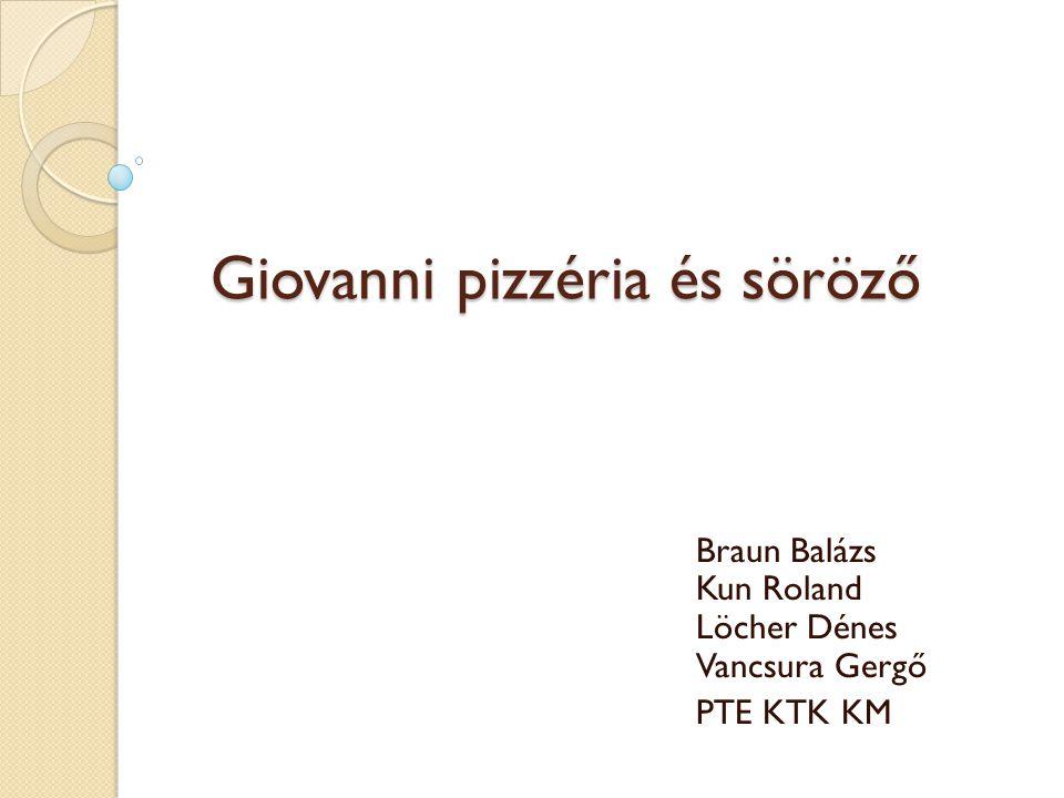 Giovanni pizzéria és söröző