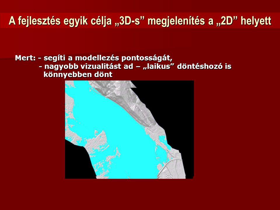 """A fejlesztés egyik célja """"3D-s megjelenítés a """"2D helyett"""