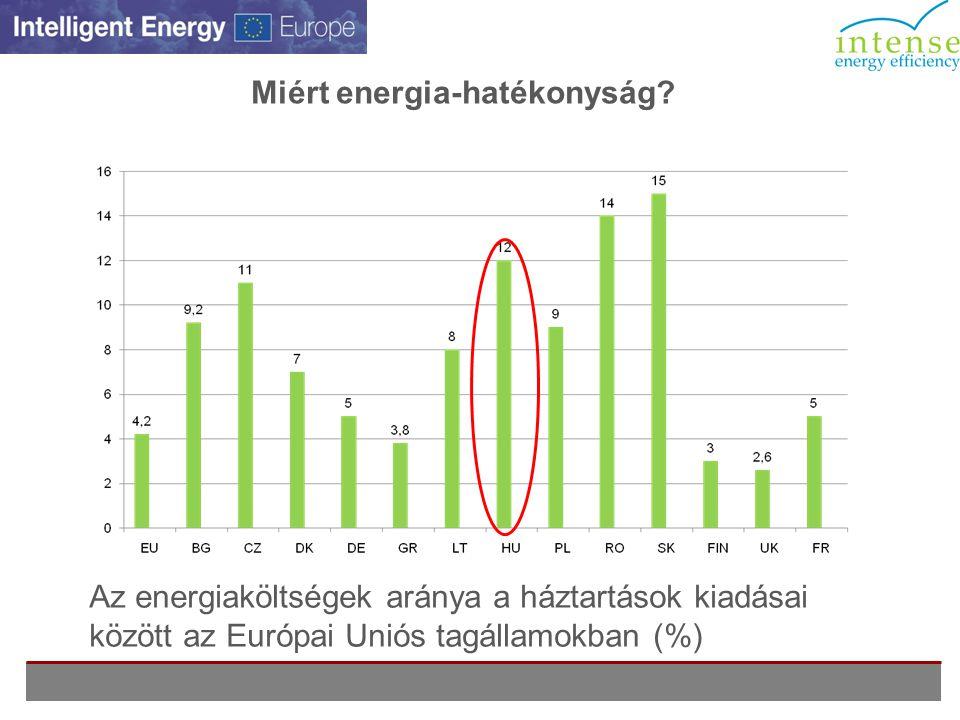 Miért energia-hatékonyság