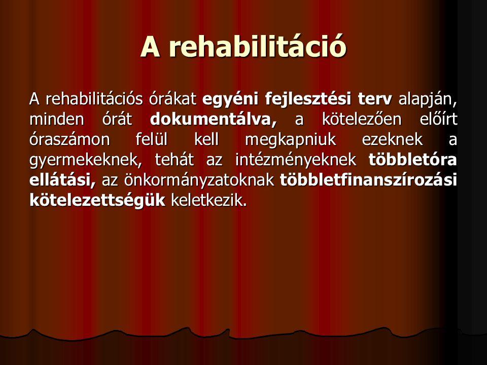 A rehabilitáció