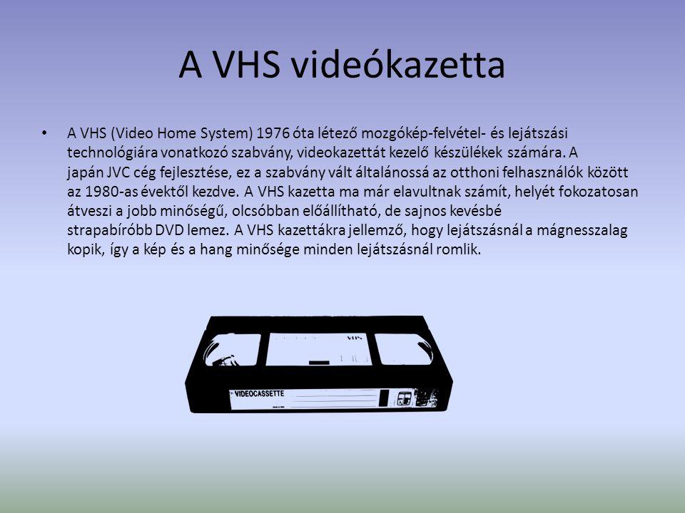 A VHS videókazetta