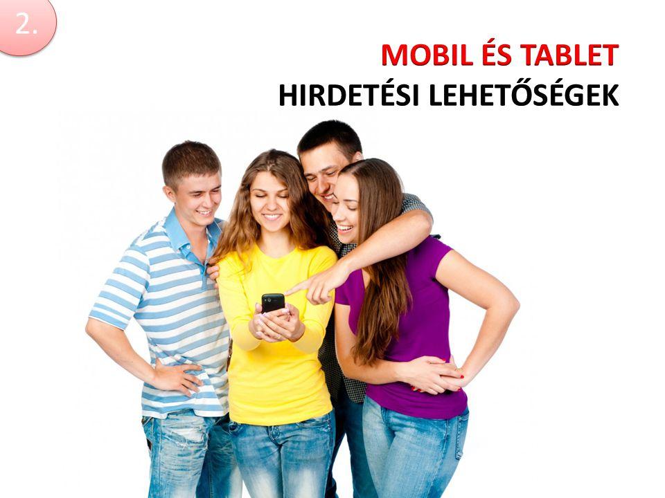 Mobil és tablet hirdetési lehetőségek