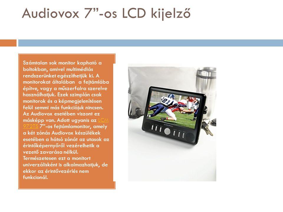 Audiovox 7 -os LCD kijelző