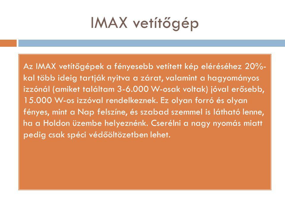 IMAX vetítőgép