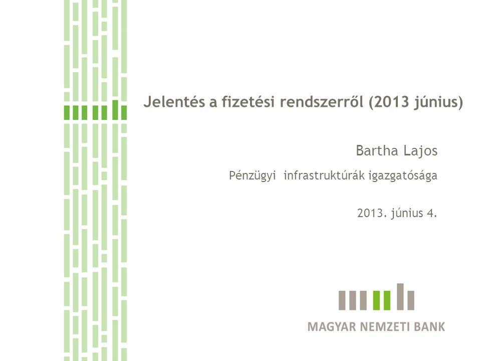 Jelentés a fizetési rendszerről (2013 június)