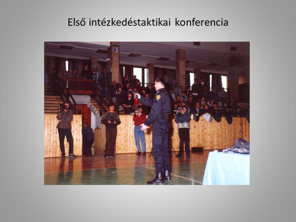 Első intézkedéstaktikai konferencia