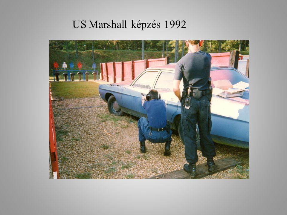 US Marshall képzés 1992