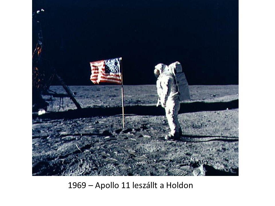 1969 – Apollo 11 leszállt a Holdon