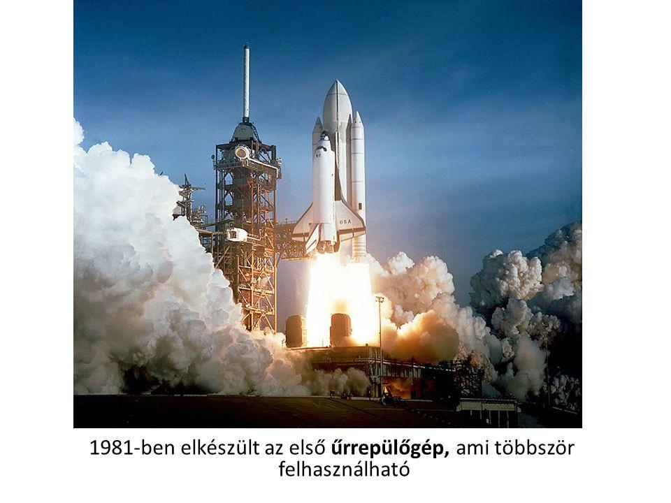 1981-ben elkészült az első űrrepülőgép, ami többször felhasználható