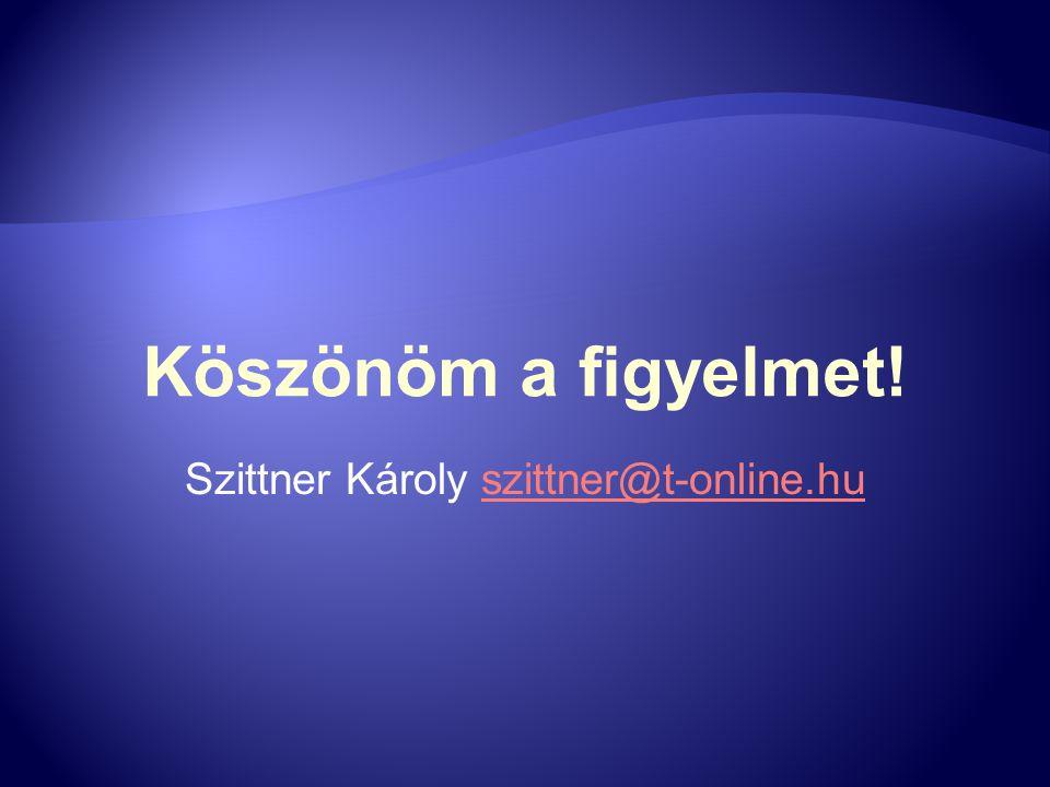 Szittner Károly szittner@t-online.hu