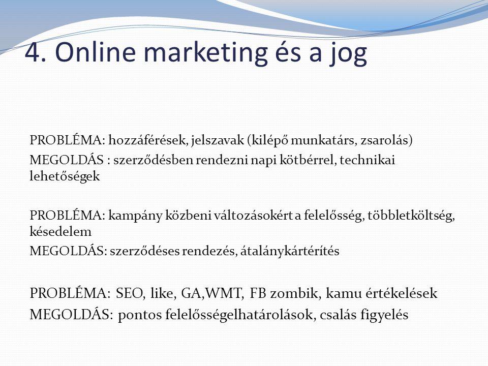 4. Online marketing és a jog