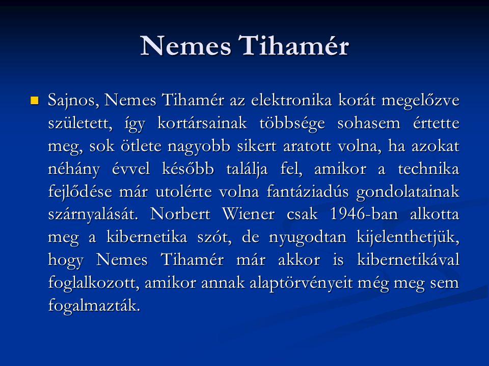 Nemes Tihamér