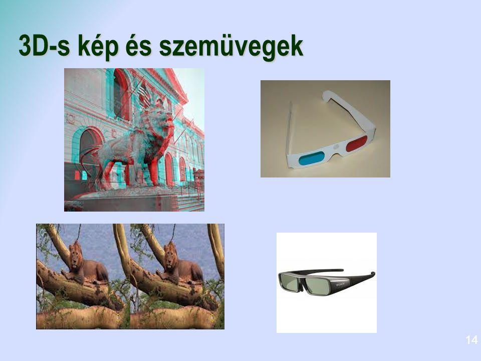 3D-s kép és szemüvegek