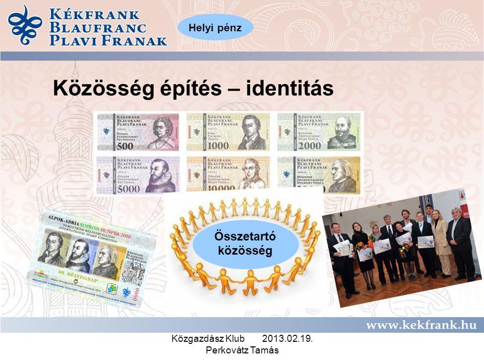 Közgazdász Klub 2013.02.19. Perkovátz Tamás