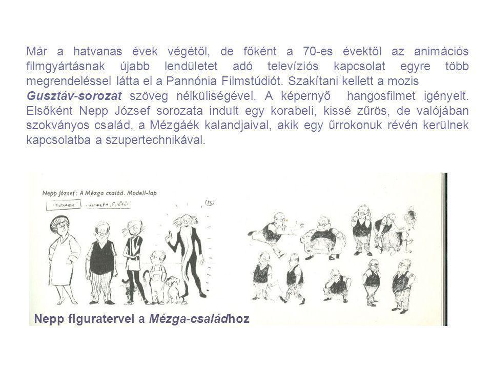 Már a hatvanas évek végétől, de főként a 70-es évektől az animációs filmgyártásnak újabb lendületet adó televíziós kapcsolat egyre több megrendeléssel látta el a Pannónia Filmstúdiót. Szakítani kellett a mozis