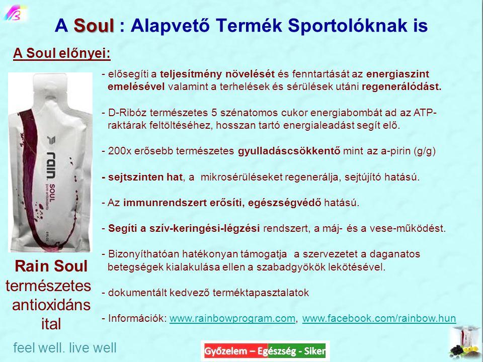 A Soul : Alapvető Termék Sportolóknak is