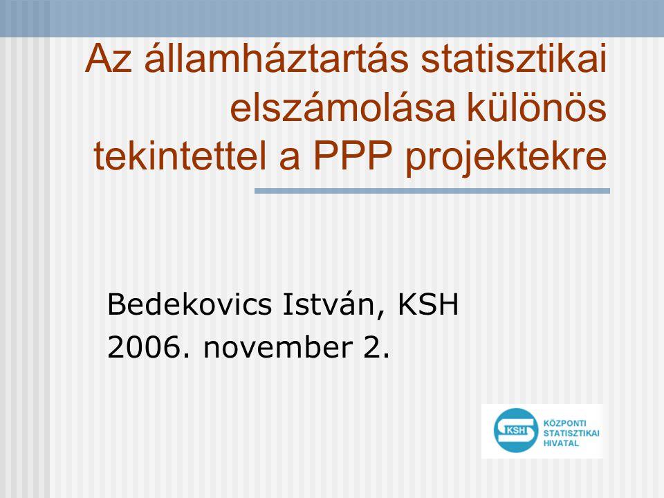 Bedekovics István, KSH 2006. november 2.