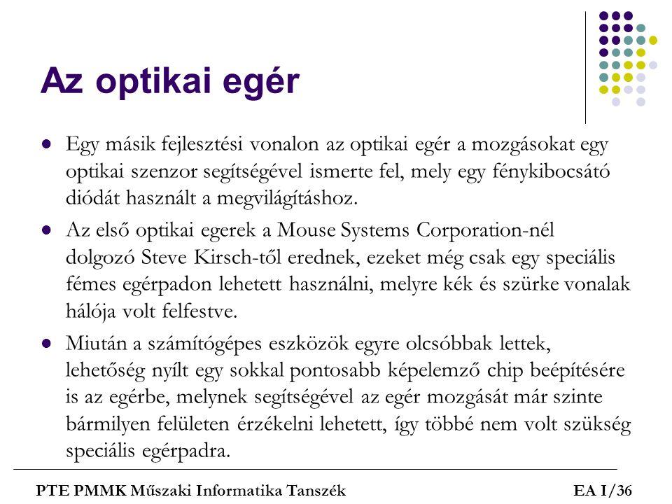 Az optikai egér
