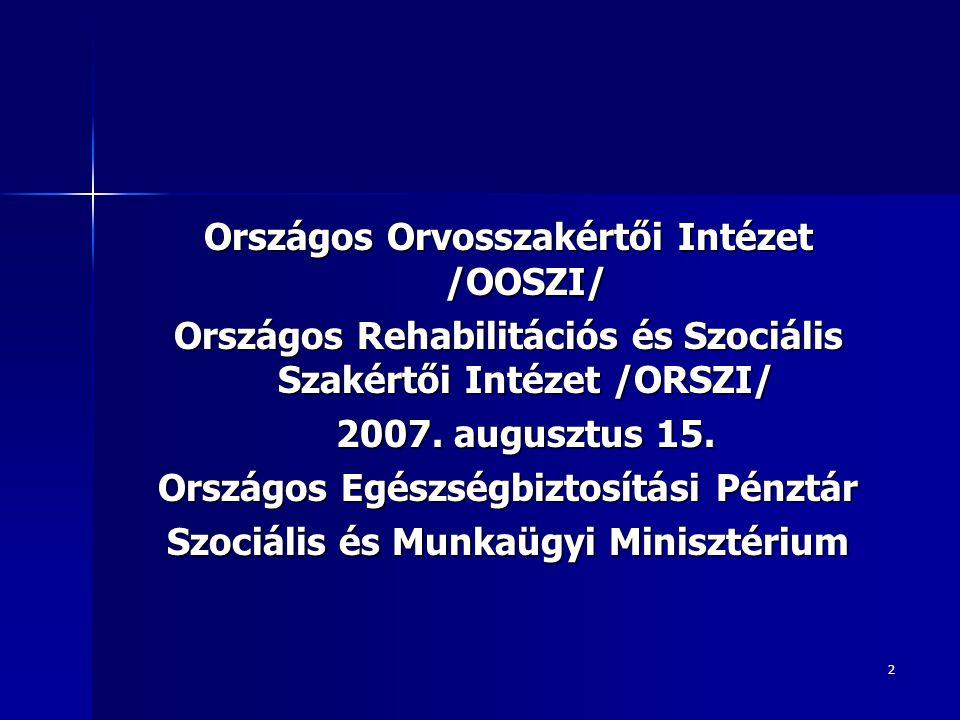 Országos Orvosszakértői Intézet /OOSZI/