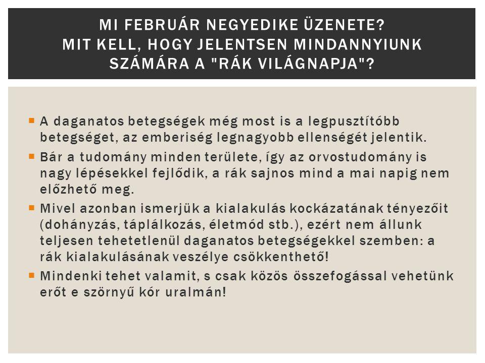 Mi február negyedike üzenete